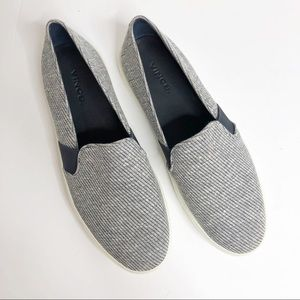 Vince - Preston Woven Slip-On Sneakers